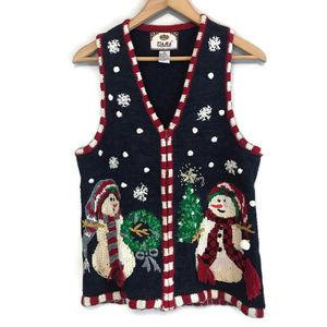 Vintage Ugly Christmas Sweater Vest